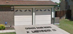 garage door opener repair in westminster