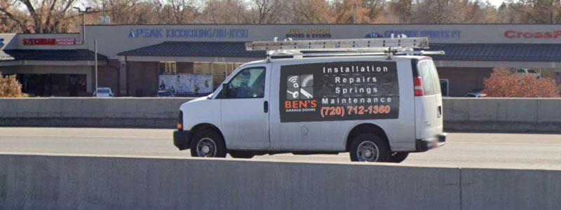 about ben's garage doors denver