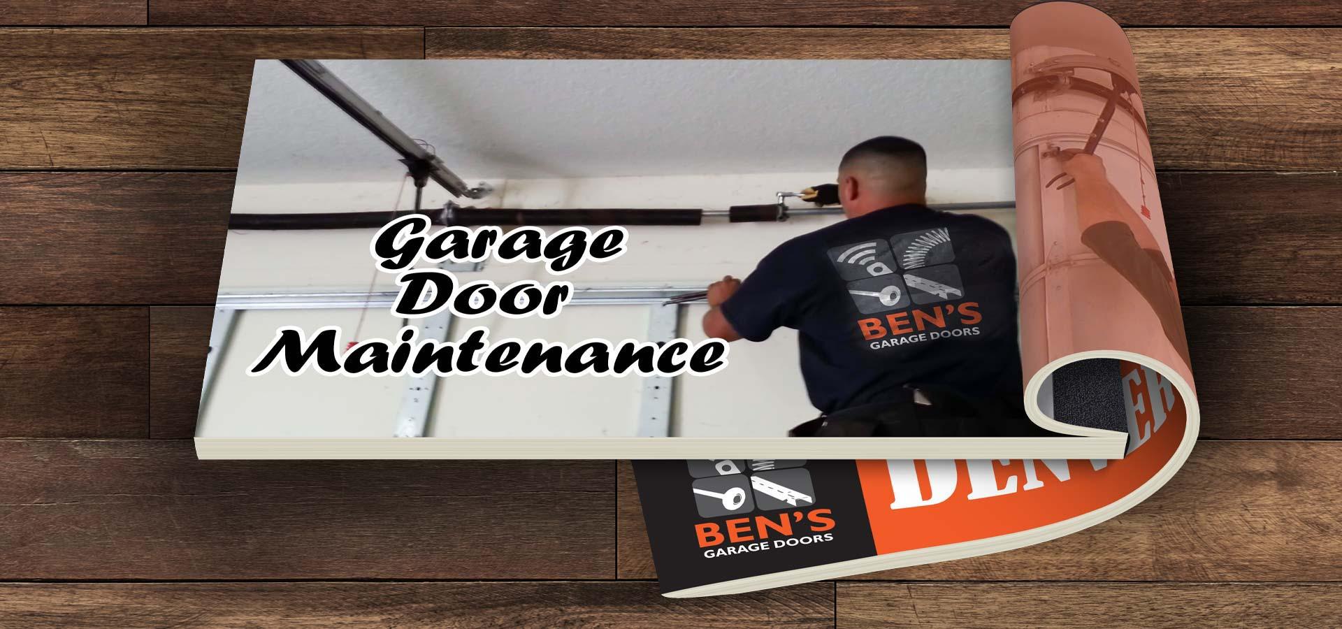 garage door maintenance services