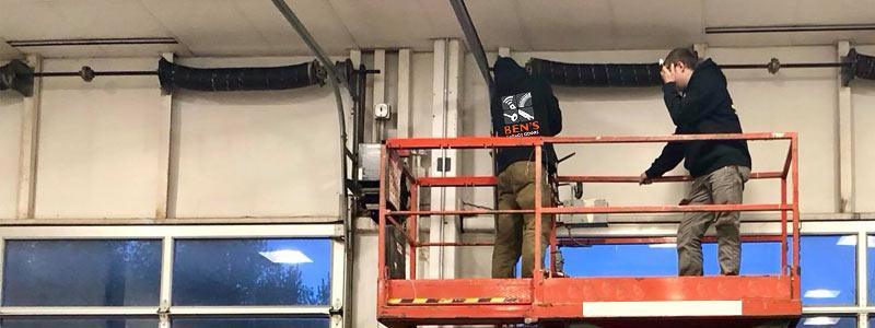 maintenance garage doors