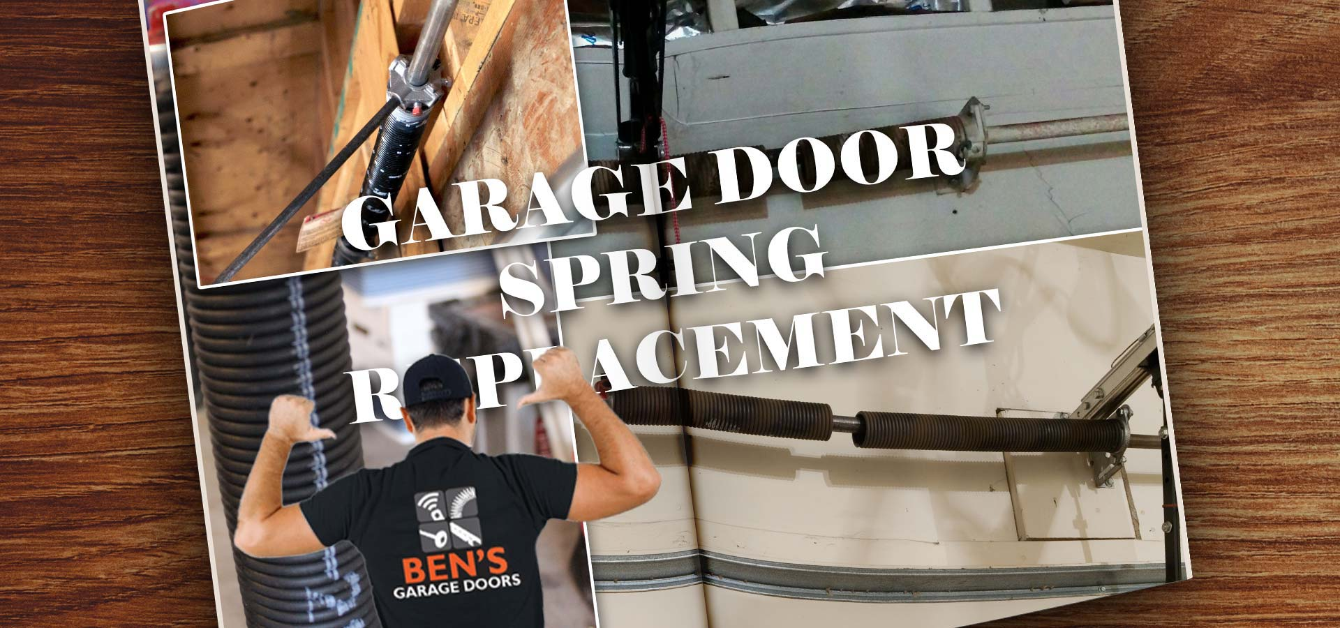 a broken garage door spring replacement