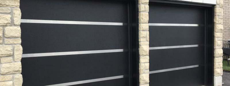 metal garage door installation