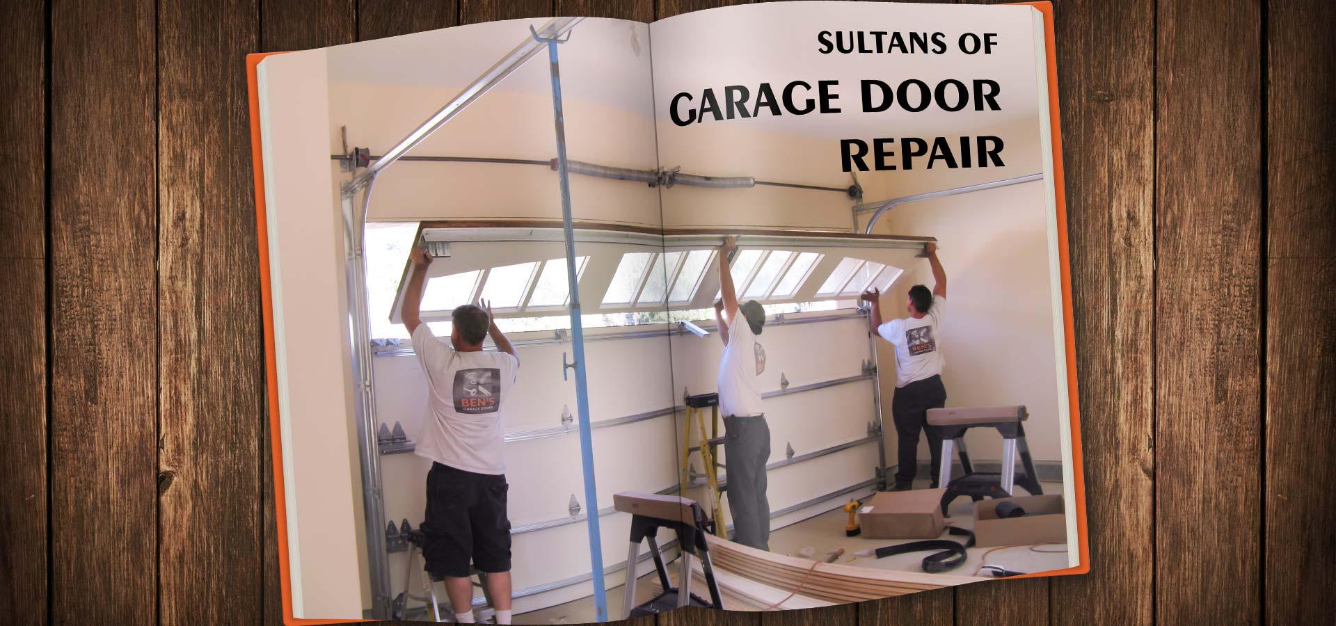 garage door repairment services